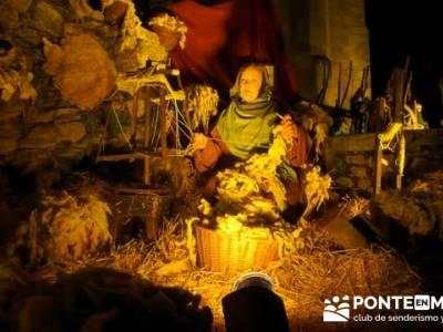 Senderismo Sierra Norte Madrid - Belén Viviente de Buitrago; rutas navarra senderismo